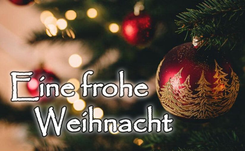 Eine frohe Weihnacht